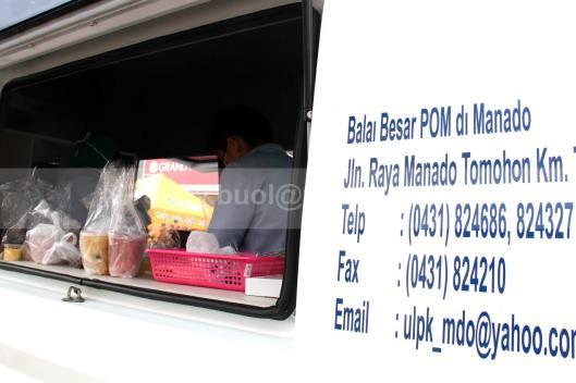 Mobil Lab BBPOM Manado.